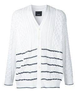 08SIRCUS | Striped Cable Knit Cardigan Size 5