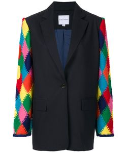 Mira Mikati | Knitted Sleeve Blazer Women