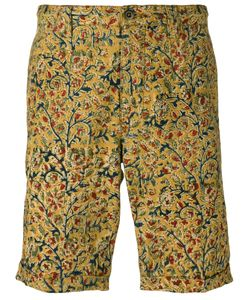 Incotex | Print Chino Shorts