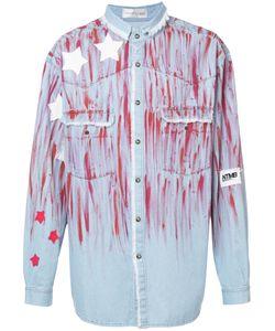 Faith Connexion   Джинсовая Рубашка С Принтом Звезд