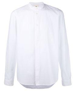 Folk | Рубашка С Узким Воротником-Стойкой
