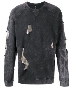 Versus | Distressed Sweatshirt M