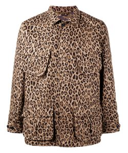 UNIFORM EXPERIMENT   Леопардовая Куртка На Молнии