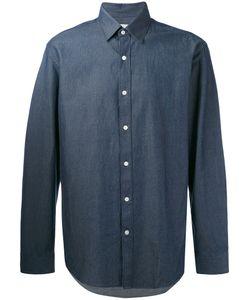 Hardy Amies | Denim Twill Shirt Men