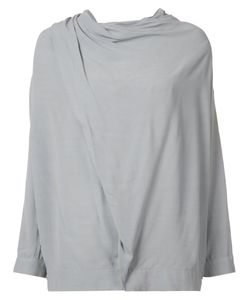 Just Female | Draped Shoulder Blouse Size Small