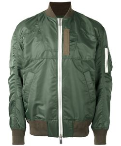 Sacai | Paneled Bomber Jacket 3 Nylon/Cotton/Cupro/Polyester