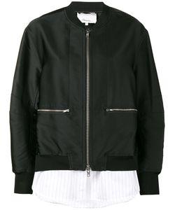 3.1 Phillip Lim | Куртка-Бомбер С Контрастным Подолом