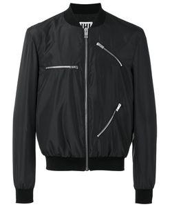 Les Hommes Urban | Zip Detail Bomber Jacket Size 50