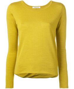Lamberto Losani | Draped Back Jumper Medium Virgin Wool/Silk