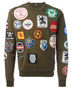 Dsquared2 | Patch Detail Sweatshirt Xxl Cotton