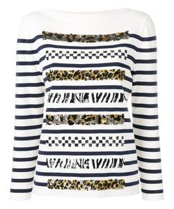 Marc Jacobs | Boat Neck Long Sleeve Jumper Xs