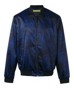Versace Jeans | Duchesse Techno Baroque Print Bomber Jacket
