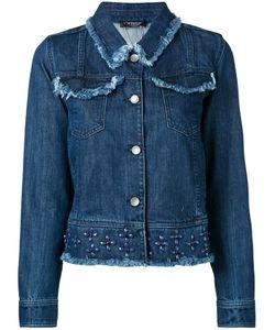 Twin-set | Studded Denim Jacket Size 48