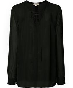 L'Agence | Drawstring Blouse Size Xs