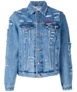 FORTE COUTURE | Love Distressed Denim Jacket