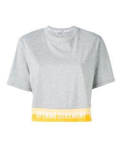 Opening Ceremony | Slogan Trim T-Shirt