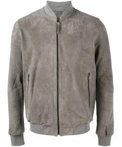 Lot 78 | Lot78 Classic Bomber Jacket 48 Suede/Cotton