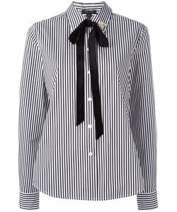 Marc Jacobs | Striped Shirt 6 Cotton/Glass/Rayon/Brass