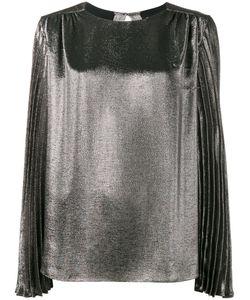 Christopher Kane | Pleated Long Sleeve Blouse