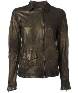 SALVATORE SANTORO   Off-Centre Zip Jacket Size 42