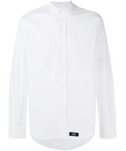 Bleu De Paname | Band Collar Shirt Size Large