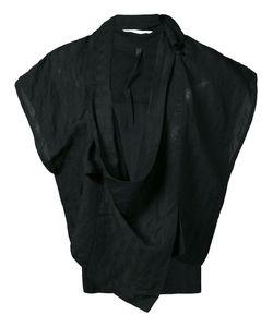 Barbara I Gongini | Sleeveless Wrap Jacket