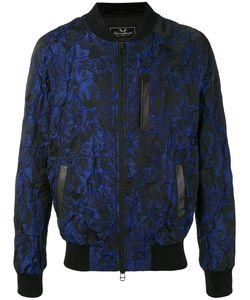 Unconditional | Куртка-Бомбер С Жаккардовым Цветочным Узором