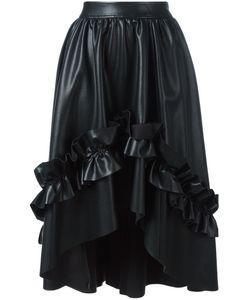 Cedric Charlier | Cédric Charlier Gathe Detail Ruffled Skirt 40 Polyester