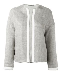 DUSAN   Collarless Jacket Size Small
