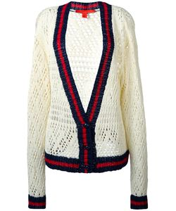 Hilfiger Collection | V-Neck Corporate Cardigan Size Medium