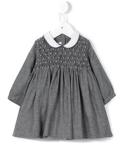 LITTLE BEAR | Smocked A-Line Dress Infant 6 Mth