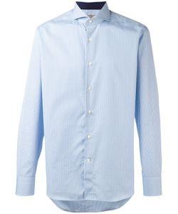 Canali | Рубашка С Принтом В Клетку