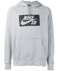 Nike | Printed Hoodie Medium Cotton/Polyester