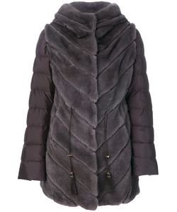 Liska | Fur Detail Coat Women
