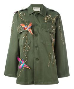 Night Market | Birds Studded Jacket Cotton/Polyester/Glass/Metal