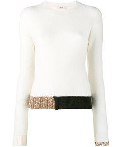 Céline   Contrast Hem Jumper Size Xs