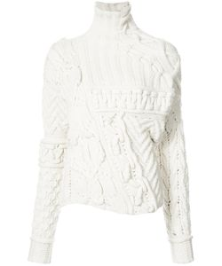 SPENCER VLADIMIR | Cable Knit Twisted Jumper Women