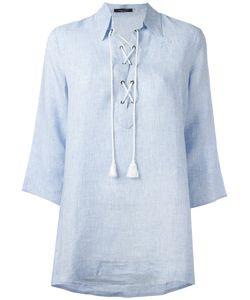 Roberto Collina   Neck-Tie Blouse Size Small