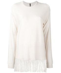 Sara Lanzi | Shredded Hem Knit