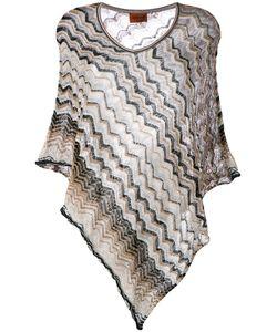Missoni | Zigzag Knitted Poncho