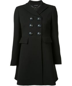 Alexander McQueen | Double Breasted Peacoat 38 Cupro/Wool/Silk