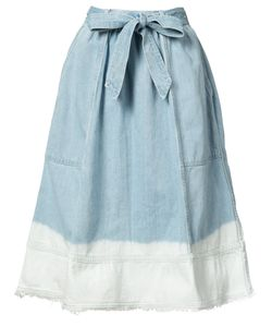 Ulla Johnson | Bleached Effed A-Line Skirt 4 Cotton
