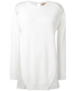 No21 | Lace Detail Knitted Top
