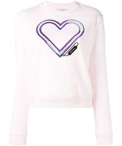 Carven | Embroidered Heart Sweatshirt Size Medium