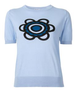 Holly Fulton | Flora Knitted T-Shirt Small Cotton