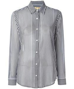 Michael Kors   Striped Shirt Medium Polyester