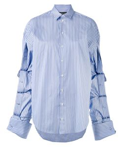 Y / PROJECT   Oversized Button Sleeve Shirt
