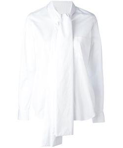Comme Des Garcons | Comme Des Garçons Tied Neck Shirt Size Medium