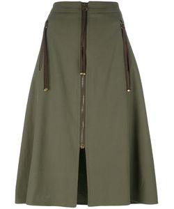 Kenzo | A-Line Zip Skirt 40