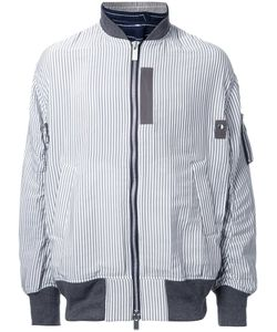 Sacai | Pinstriped Bomber Jacket 3 Polyester